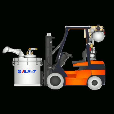 Vakuumfüll- und Druckdosiersystem für geschmolzenes Aluminium
