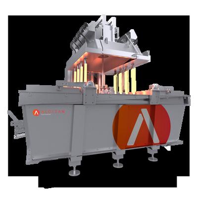 fabricante de horno de soporte de aluminio Al Clean