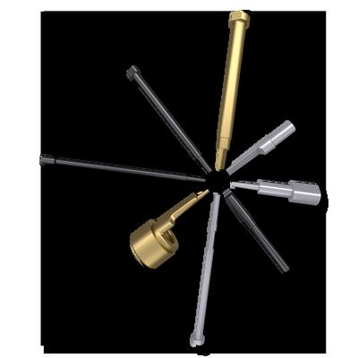 pernos para sistema de enfriamiento de metal ligero