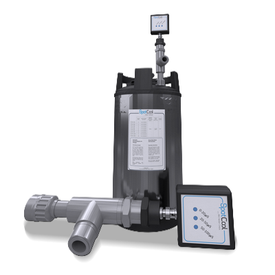 Fixed measurement device Water Softener