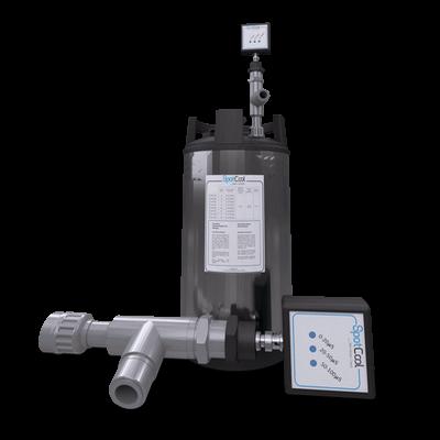 Système de contrôle de l'eau pour adoucisseur de fonderie