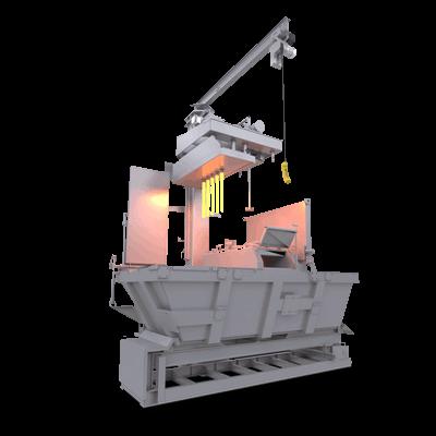Fabricant de four sur mesure pour fonderie et moulage par gravité