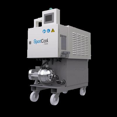 Système de refroidissement pour fonderie d'aluminium sous pression