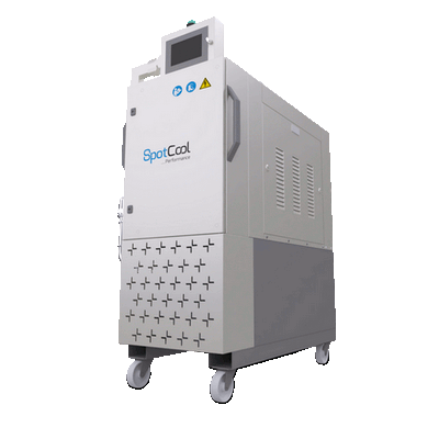 Die casting cooling system, Spotcool Performance