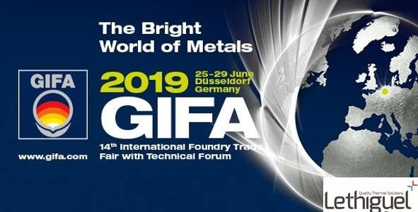 GIFA 2019 Germany, Lethiguel booth