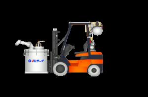 vacuum filling and pressure dosing system for molten aluminium Al Serve