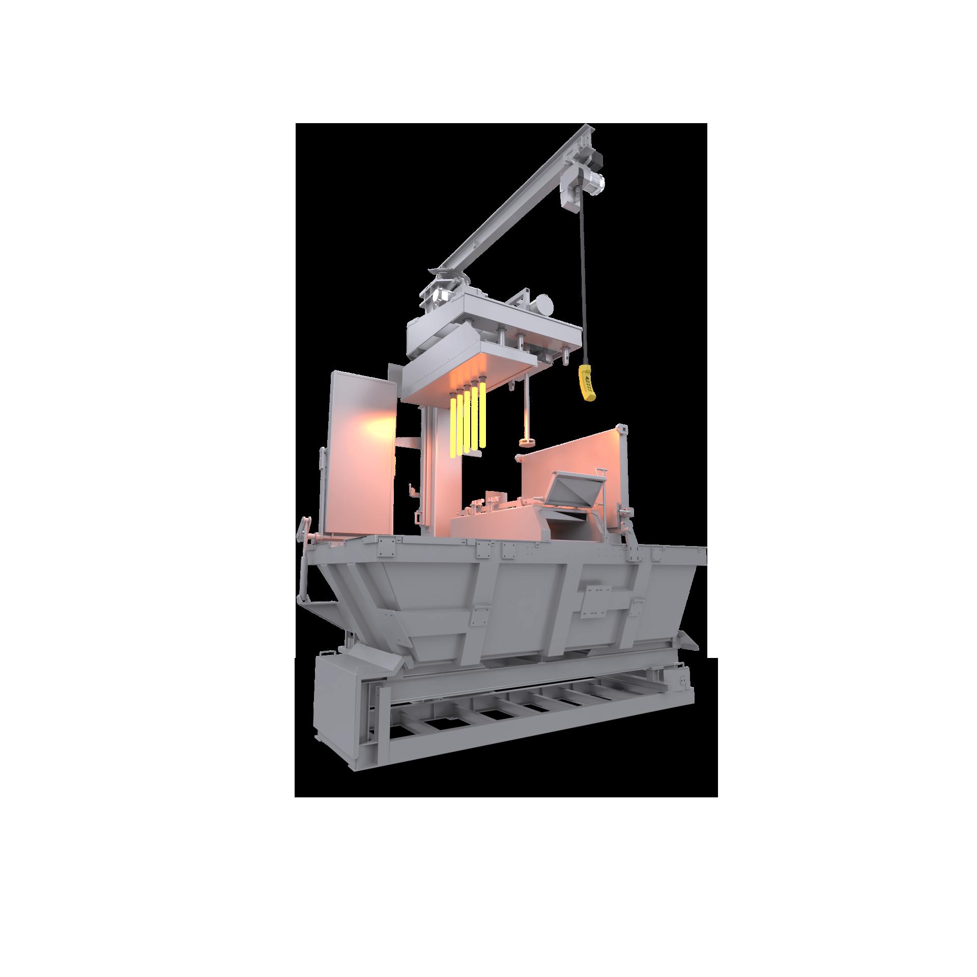 aluminium custom furnace